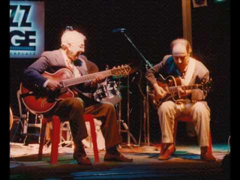 Bucky Pizzarelli and Eddy Palermo quartet - live in Rome 1996