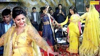 सपना चौधरी और पूजा हुड्डा पहली बार मिकलकर डांस किया | मैं तेरी नचायी नाचू सु | सभी भक्त देखते रह गए
