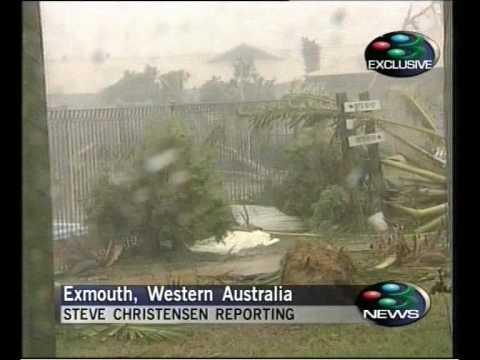 Cyclone Vance  Geoff Mackley on 3 News