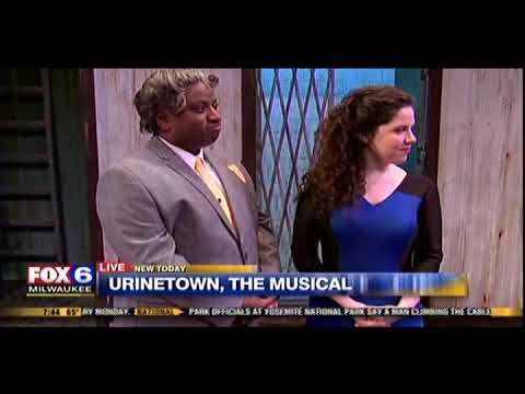 """Urinetown, The Musical"" Stage Combat on FOX6 WAKE UP"