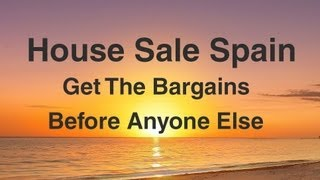 House Sale Spain - Buy Cheap Property