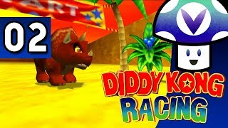 [Vinesauce] Vinny - Diddy Kong Racing (part 2) + Art!