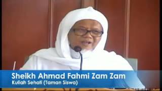 Sheikh Ahmad Fahmi Zam Zam Al-Banjari An-Nadwi Al-Maliki (Kitab Bekal Akhirat)
