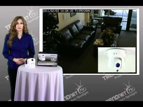 trendnet proview wireless n pan/tilt/zoom internet camera