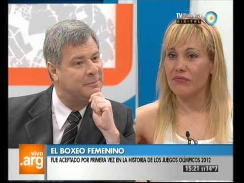 Vivo en Argentina - Deportes - Claudia López - 02-10-12