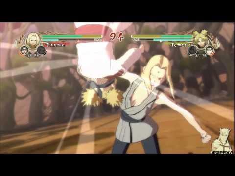 Naruto: Ultimate Ninja Storm - Tsunade vs Temari