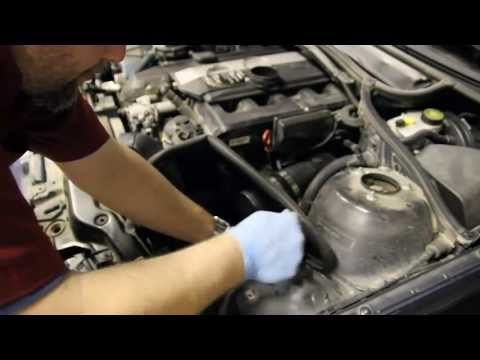 Installing a K&N Cold Air Intake on a 3 Series BMW E46 Chassis. (M54 Engine)