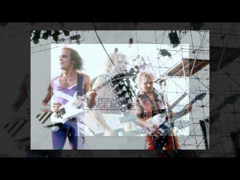 VINTAGE ROCK PHOTOS / Scorpions 1988 Monsters of Rock Tour - Live Concert Photos