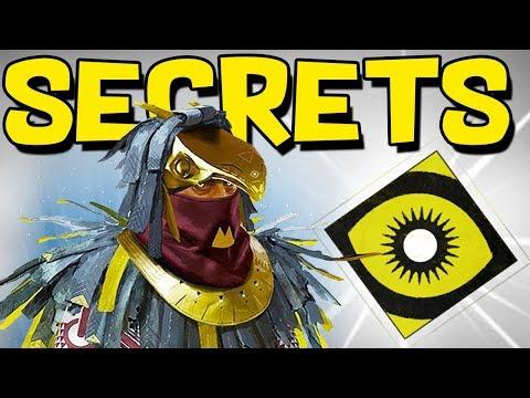 Destiny 2: GLITCH INSIDE OSIRIS DLC & NEW SECRETS! Infinite Forest, Pyramidion Secrets, & Glitches