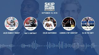 UNDISPUTED Audio Podcast (9.18.19) with Skip Bayless, Shannon Sharpe & Jenny Taft | UNDISPUTED