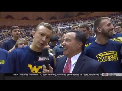 NCAAB 2016 02 22 Iowa State at West Virginia 720p60