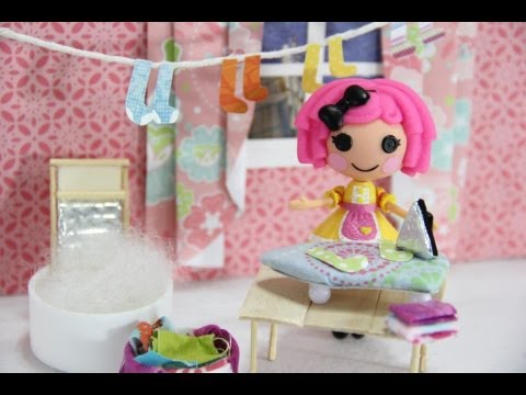How to Make a Doll Iron and Ironing Board