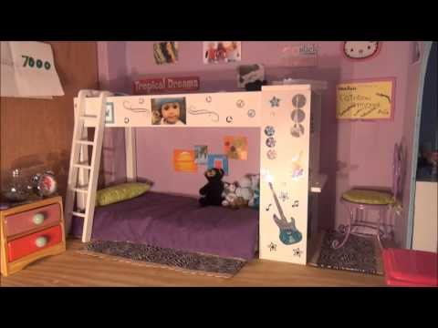 MY AG DOLL HOUSE TOUR!