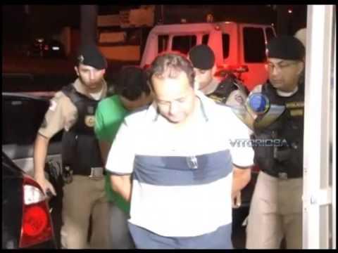 PM prende suspeitos de receptarem caminhão roubado