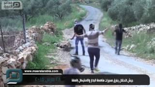 مصر العربية | جيش الاحتلال يفرق مسيرات مناهضة للجدار والاستيطان بالضفة