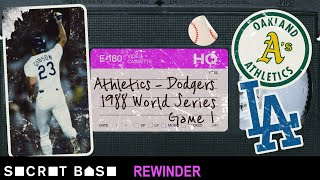 Kirk Gibson's Game 1 walk-off deserves a deep rewind | 1988 World Series