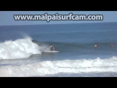 Mal Pais Costa Rica, www malpaisurfcam com 07 01 15 Surfing Santa Teresa