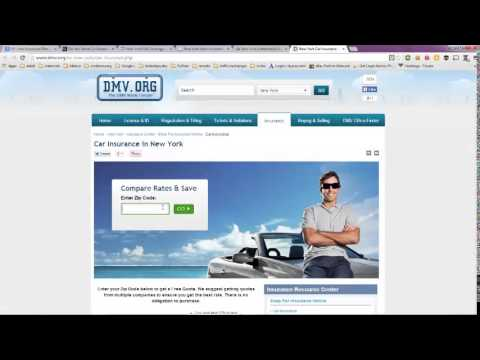 NY Auto Insurance Plan -- Quotes in New York That Make Sense!