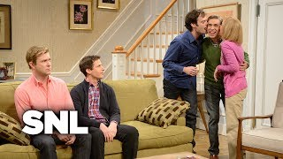 Kissing Family: Brecken Brings His Boyfriend Home - SNL
