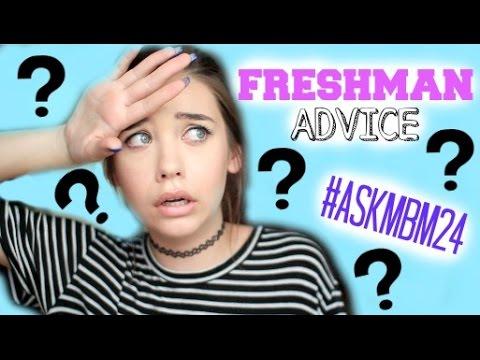 FRESHMAN ADVICE || Back-to-School 2014