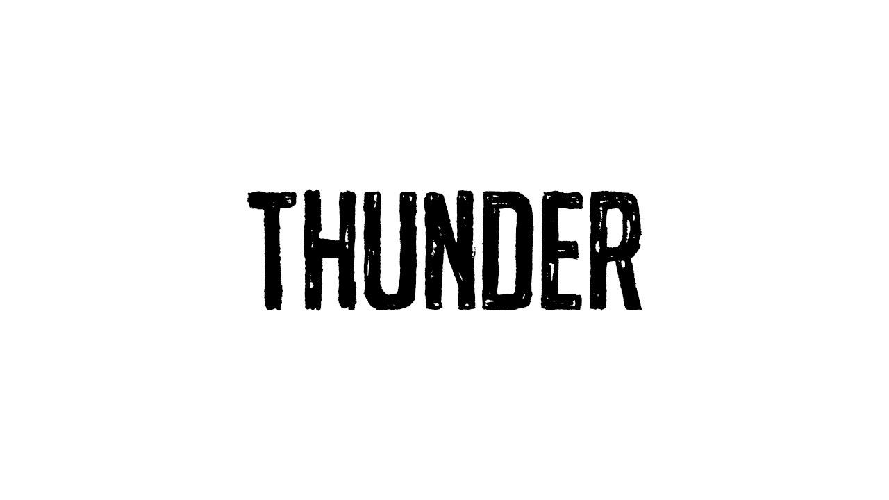 Netsky - Thunder feat. Emeli Sandé (Cover Art)