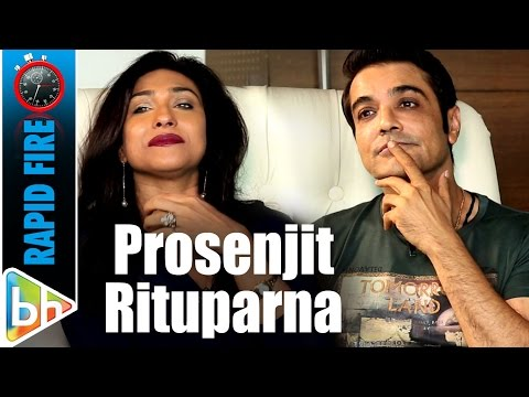 Prosenjit Chatterjee-Rituparna Sengupta's BRILLIANT Rapid Fire On SRK, Ajay, Akshay, Mamata Banerjee