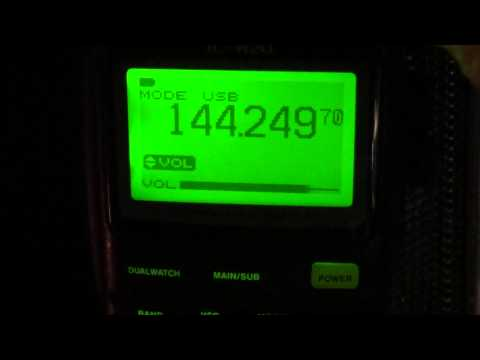 VE2MRC 2 meters ham net on Icom IC R20