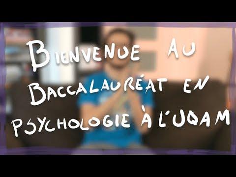 Bienvenue au Baccalauréat en Psychologie à l'UQAM! - Présentation du programme