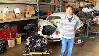 Chico Performance into Top Line Super Beetle Chassis by Vintage Speed