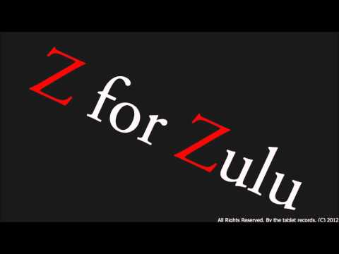 Z For Zulu - Boy video