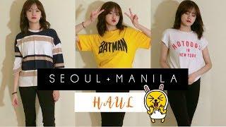 KOREA/MANILA FASHION TRY-ON HAUL ! | bea.tv