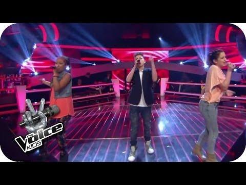 Naughty Boy feat. Emeli Sande - Lifted (Naomi, Selma, Lukas) | The Voice Kids 2014 | BATTLE | SAT.1