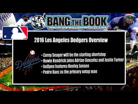 2016 Los Angeles Dodgers Predictions and Odds to Win the World Series