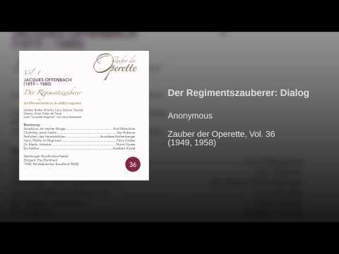 Der Regimentszauberer: Dialog
