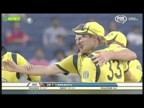 Brad Haddin high five eye poke - commentary by The 12th Man -...