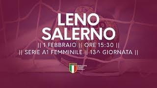 Serie A1F [13^]: Leno - Salerno 18-33