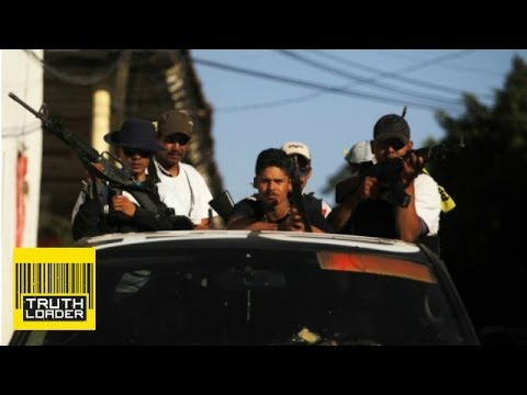 Mexican vigilantes legalised in the war on drugs - Truthloader