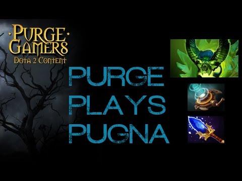 Dota 2 Purge plays Pugna