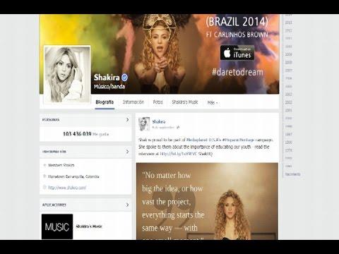 Shakira formará parte de los Récord Guinnes