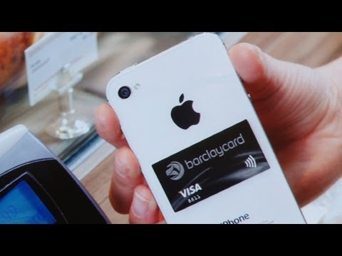 Barclaycard PayTag: NFC contactless payment sticker