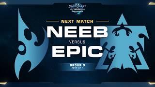 Neeb vs Epic - WCS Challenger 2018 Season 2 – NA