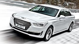 Уже не Hyundai, еще не Mercedes: Genesis G90. Тест на полигоне