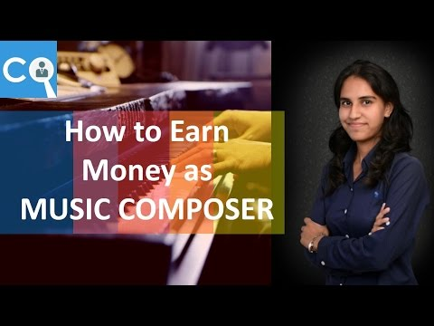 How to Earn Money as a Music Composer