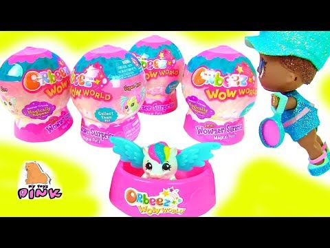 #ORBEEZ SURPRISE EGGS Куклы ЛОЛ Нашли ВОЛШЕБНЫХ ПИТОМЦЕВ WOWZERS! Шарики с Сюрпризом