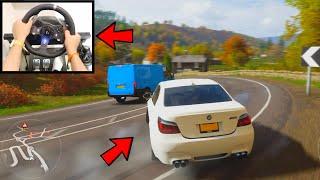 Forza Horizon 4: How To Drift Like A BOSS using Logitech G920 Steering Wheel + Best Wheel Settings
