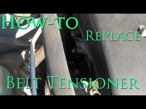 Belt Tensioner Replacement 2003 to 2008 Toyota Corolla Matrix Vibe   How to Replace   Tutorial
