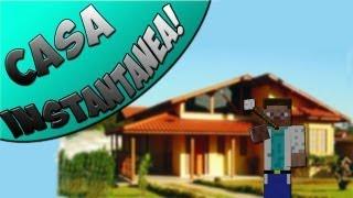 MrMOD! Casas Instantâneas! Insta House Mod