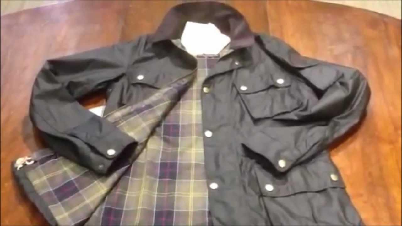 Mens Waxed Jacket
