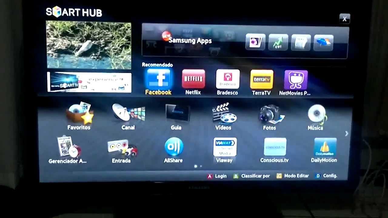 01 internet smart tv samsung un40d5500 x lg 42lv5500 comparativo youtube. Black Bedroom Furniture Sets. Home Design Ideas