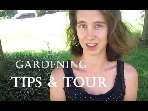2 Gardening Tips & Tour ll Living On A Tight Budget ll Minimalist